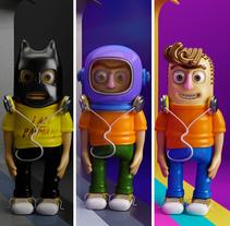 Mi Proyecto del curso: Diseño de personajes en Cinema 4D: del boceto a la impresión 3D. Un proyecto de Diseño de personajes de Belén Tarcaya - 05-05-2017