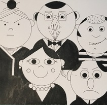 Mi Proyecto del curso: Dibujo para principiantes nivel -1. A Illustration project by Mª luz García Pertiñez         - 06.05.2017