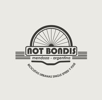 Diseño de marca para Not Bondis - bicicletas urbanas. Un proyecto de Diseño de Nicolás Montecchiari         - 09.05.2017