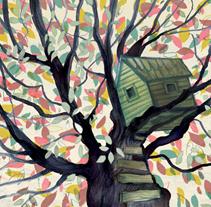 La voz del árbol. Un proyecto de Ilustración de Adolfo Serra - 12-05-2017