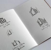 Logotipo empresa de construcción Julio Sánchez. Un proyecto de Br, ing e Identidad, Bellas Artes y Diseño gráfico de Marcos Perez         - 13.05.2017