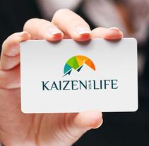 """Diseño de logotipo para Kaizen your Life, una empresa dedicada al """"Coaching"""" personal y ejecutivo, formación a particulares y empresas y servicios de consultoría de RRHH.. A Design, Br, ing, Identit, and Graphic Design project by Alejandro Prieto Jaime         - 21.05.2017"""
