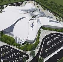 Diseño Arquitectónico Centro Ferial Internacional Y Convenciones. A 3D, and Architecture project by Oliver Barrios         - 28.05.2017