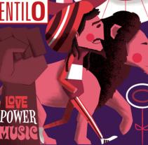 JOURNAL VENTILO - No 391. Un proyecto de Ilustración y Diseño de personajes de Jhonny  Núñez - 31-05-2017