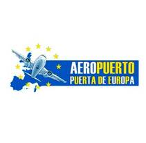 Logo Aeropuerto Puerta de Europa. Un proyecto de Diseño gráfico de Marta Arévalo Segarra         - 03.06.2017