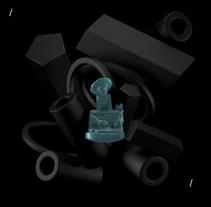 Mi Proyecto del curso: Introducción exprés al 3D: de cero a render con Cinema 4D. A 3D, Art Direction, and Character Design project by Alejandra Martinez Gonzalez - 06-06-2017