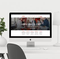 Diseño web para Cooking Málaga. Un proyecto de Diseño y Diseño Web de DIKA estudio  - 06-06-2017