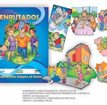 ENRUTADOS - Gabriel Trejos Duque. Un proyecto de Diseño, Ilustración, Diseño editorial, Diseño gráfico y Comic de Gabriel Trejos Duque - 13-06-2017