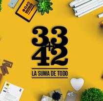 DESPLIEGA TU ILUSIÓN 33+4+2. Un proyecto de Diseño gráfico de DIKA estudio  - 15-06-2017