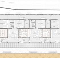 Planta Arquitectónica PFC. Un proyecto de Arquitectura de Jorge Rodríguez Pérez         - 21.06.2017