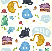 Gatos y Perros. A Illustration project by okosketch - 22-06-2017