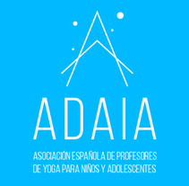 ADAIA: Asociación española de profesores de yoga para niños y adolescentes. A Art Direction, Br, ing, Identit, and Web Design project by Dani GC         - 25.06.2017