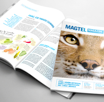 Revista corporativa Magtel. A Br, ing, Identit, and Editorial Design project by Julieta Giganti - 20-12-2015