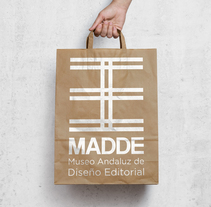 Diseño identidad visual del Museo Andaluz de Diseño Editorial /  Design visual identity of the Andalusian Museum of Editorial Design. A Br, ing, Identit, Editorial Design, Graphic Design, T, and pograph project by Ángela Gutiérrez García         - 06.07.2017