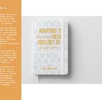 Agenda Stradivarius 2017 . A Graphic Design project by Paula Plaza Bergés         - 09.10.2016