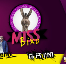Miss Bixo RUMON. A Graphic Design project by Pedro Henrique         - 10.07.2017