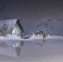 Peligro en la nieve.. Um projeto de Design e Fotografia de María Morales Jiménez - 10-07-2017