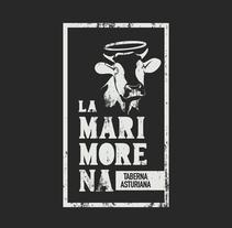 Propuesta de logo restaurante asturiano. A Br, ing&Identit project by Nacho Álvarez-Palencia         - 10.07.2016