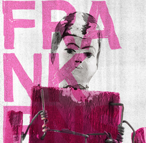 FRANKENSTEIN. A Design, Art Direction, Editorial Design, Graphic Design, T, pograph, and Collage project by antonio plaza         - 10.05.2017
