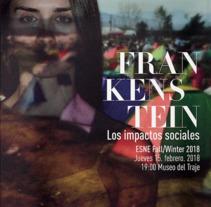 Campaña 360 Desfile ESNE. Um projeto de Publicidade, Direção de arte e Design gráfico de Mónica Ríos Herrera         - 27.01.2017