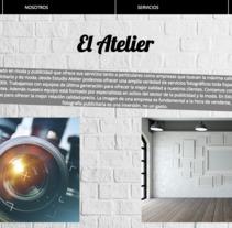 Estudio Atelier - Mi Proyecto del curso: Técnicas de Desarrollo Web con HTML5 y CSS3. Un proyecto de Desarrollo Web de amandagijon - 17-07-2017