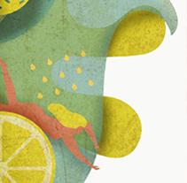 Propuesta publicitaria cerveza KEKU. Un proyecto de Diseño, Ilustración, Publicidad, Diseño gráfico e Ilustración vectorial de Lidia Lobato - 13-04-2017