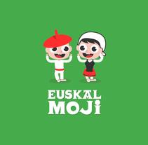 Euskalmoji. Un proyecto de Ilustración, Diseño gráfico, Ilustración vectorial y Diseño de iconos de Ainara García Miguel - 20-07-2017
