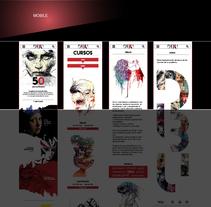 Página web para escuela de dibujo. Um projeto de Web design de marc satlari - 25-07-2017