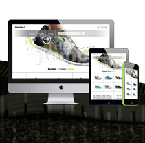 Landing page para marca de calzado deportivo. Um projeto de Web design de marc satlari - 25-07-2017
