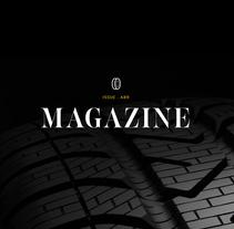 Pirelli MAGAZINE. Un proyecto de UI / UX, Diseño gráfico y Diseño Web de Berta de la Iglesia         - 20.10.2016