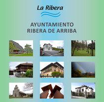Rollers Ayuntamiento Ribera de Arriba (Asturias). Un proyecto de Diseño gráfico de Marcos Flórez Tascón - 02-08-2017
