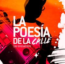 La poesía de la calle : 1er encuentro. A Illustration, and Graphic Design project by Gustavo Chourio         - 06.08.2017