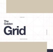 Golden Ratio Grid (freebie). A Graphic Design, Interactive Design, and Web Design project by Adrián Somoza         - 08.08.2017
