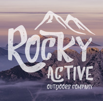 Branding Onlineshop - Rocky Active Outdoors Company. A Design, Art Direction, Br, ing, Identit, and Graphic Design project by Raquel Asenjo González - 17-05-2017