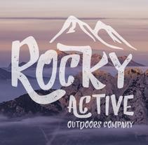 Branding Onlineshop - Rocky Active Outdoors Company. Un proyecto de Diseño, Dirección de arte, Br, ing e Identidad y Diseño gráfico de Raquel Asenjo González         - 17.05.2017