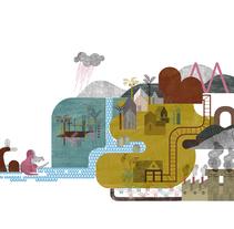 EXCELENTE IBERIA. Territorios Míticos. Un proyecto de Diseño e Ilustración de anne - 01-01-2017
