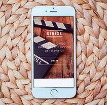 Dirige. Un proyecto de Diseño Web de studio sananikone  - 23-05-2016