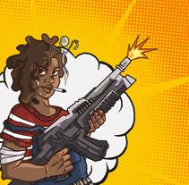 TOXIC RUSH - VIDEOGAME. Um projeto de Animação, Design de personagens, Design de jogos e Design interativo de María Herreros Díaz         - 27.06.2017