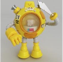 Bot 2.0 . Un proyecto de Ilustración, 3D y Diseño de personajes de Adrian  Garcia - 30-08-2017