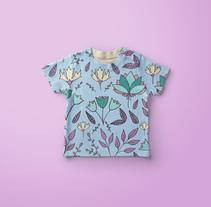 Flores vintage_2. A Pattern design project by Belén  Rodríguez  - 30-08-2017