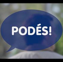 PODÉS (BHU spot). A Advertising project by Nacho  Echeberría - 04-09-2017