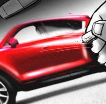Shooting Board - Mazda 'KANJI DISRUPTION' (Ad & Shooting). Un proyecto de Ilustración, Publicidad, Cine, vídeo, televisión y Cine de Pablo Buratti - 08-09-2017