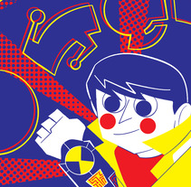 CARTOON NETWORK EN AMARILLO, AZUL Y ROJO. A Illustration project by Jhonny  Núñez - 15-09-2017