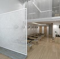 Pilates Miami . Um projeto de 3D, Arquitetura, Arquitetura de interiores e Design de interiores de jordi reglá - 18-09-2017