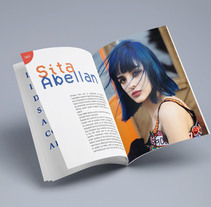 Fanzine Sita Abellán. Un proyecto de Diseño editorial de Carolina Moya Comin         - 01.07.2017