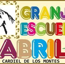 Página web para la Granja Escuela Abril. A Web Development project by Mario Serrano Contonente         - 21.09.2017