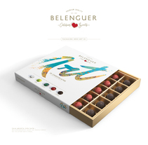 Chocolates Beleguer. A 3D, Br, ing, Identit, and Packaging project by Branding & Packaging Design  - 22-07-2017