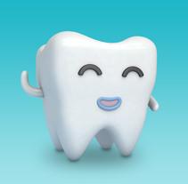 Denty. Un proyecto de Diseño, 3D y Diseño gráfico de Sandra Olivas Nevado         - 25.09.2017