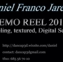 Demo reel 2017. A 3D, Animation&Infographics project by Daniel Franco Jareño - 25-09-2017