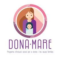 Logotipo DONA-MARE. A Br, ing, Identit, and Vector illustration project by Punts suspensius  ilustración y diseño  - 28-09-2017
